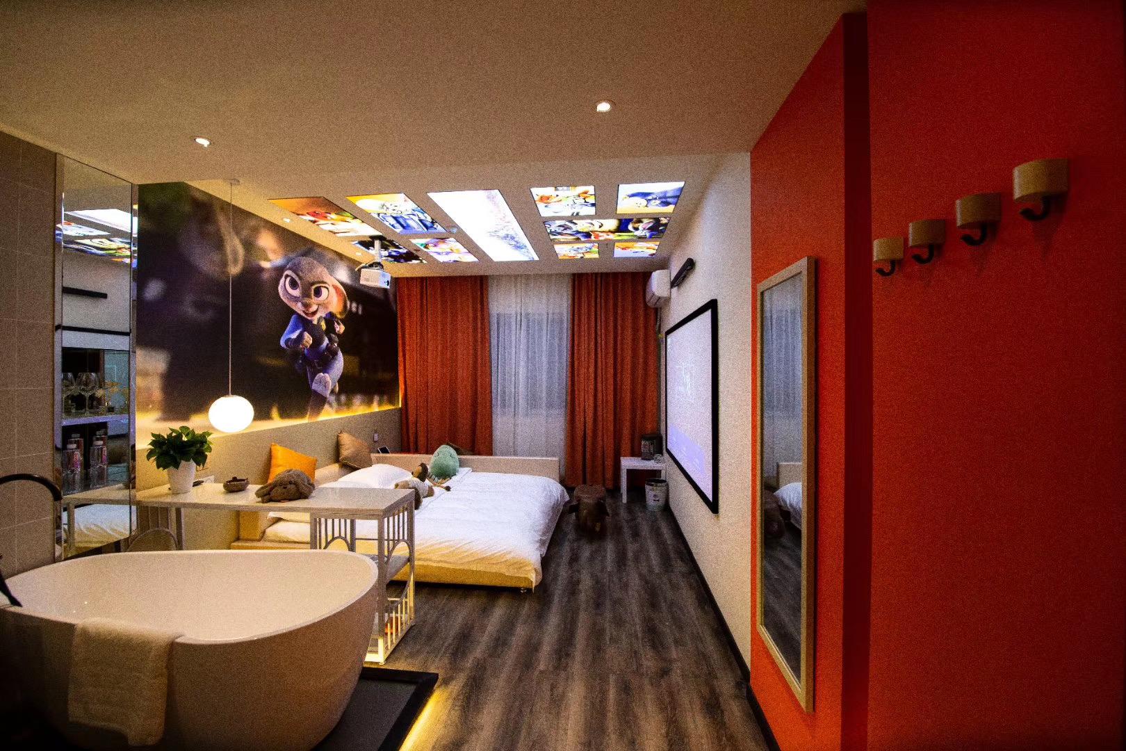 杭州入戏电影主题酒店 让你睡在电影里